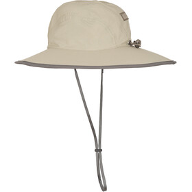 Outdoor Research Rambler Sonnen Sombrero Kinder khaki/dark grey
